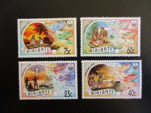 Kiribati #613-16 Mint Never Hinged (N7M0) WDWPhilatelic 2