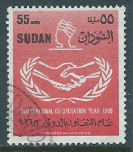 Sudan, Sc #184, 55m Used