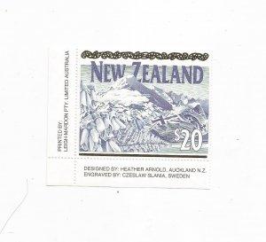 NEW ZEALAND, SCOTT# 1084, MNH, OG