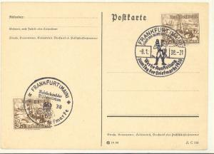 Germany  1932 and 1938 Unused Postcards , latter is FDC VF