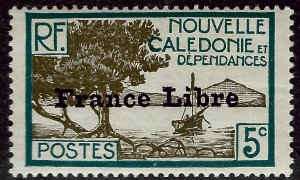 New Caledonia #221 Mint Fine SCV$13.50...French Colonies are Hot!