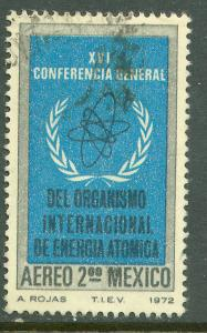 MEXICO C406 Conf. of the Atomic Energy Commission Used (154)