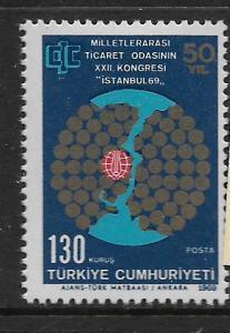 TURKEY, 1803, MNH, MAP OF ISTANBUL