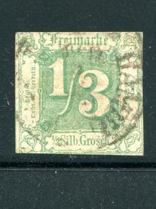 Thurn & Taxis  #16 Used F-VF  town cancel