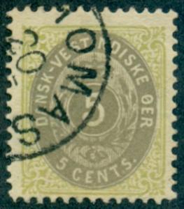 Danish West Indies #19  Used  Scott $35.00