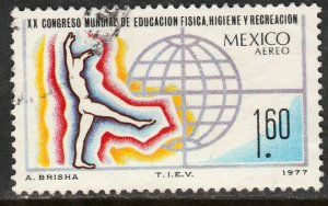 MEXICO, C546 Cong for Education Hygiene & Recreation USED. F-VF. (673)