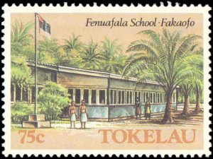 Tokelau #126-131, Complete Set(6), 1986, Never Hinged
