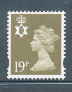 Great Britain Northern Ireland NIMH68 199 19p Machin Head stamp  mint NH