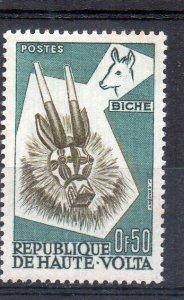 UPPER VOLTA - 1960 - ANIMAL MASKS - DEAR - 0f50 -