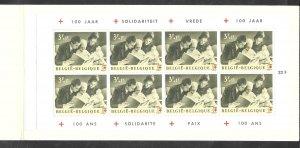 Belgium #B745a MNH Booklet  Flemish inscription (my222)