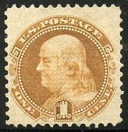 US Scott #112 Mint, FVF, Extra Light Hinge