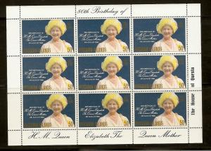 Pitcairn Isl. 193 MNH 1980 QM 80th Birthday