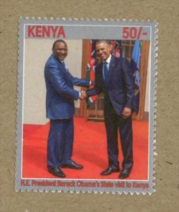 Kenya 2017 Visif of Barack Obama to Kenya, MNH