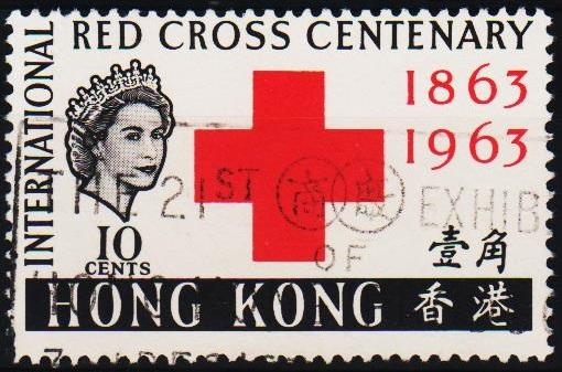 Hong Kong. 1963 10c S.G.212 Fine Used
