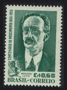 Brazil Birth Centenary of Lutz public health pioneer SG#934