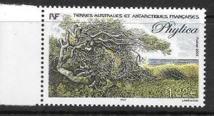 FRENCH SOUTHERN & ANTARCTIC TERRITORIES SG509 2003 PHYLICA TREE MNH