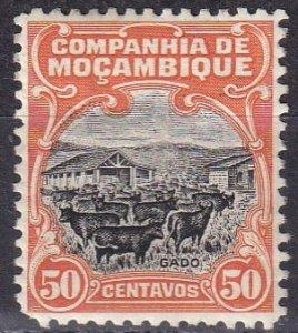Mozambique Company #137 F-VF Unused  CV $3.00 (Z6204)