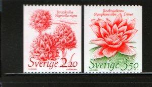 SWEDEN 1528-1529 MNH, 1985 Wildlife Fund