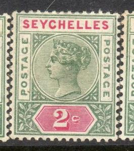 Seychelles 1897 Early Issue Fine Mint Hinged 2c. 309003