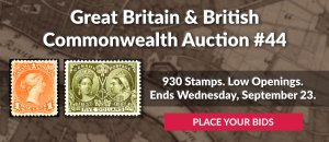 The 44th Great Britain & Commonwealth Auction