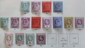 Straits EVII 1907 mint set to $2