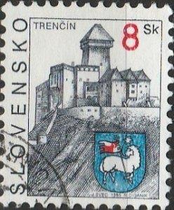 Slovakia, #223  Used , From 1995-2001,  CV-$0.60