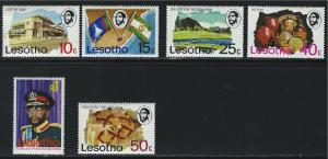 Lesotho SC199-208 King MoshoshoII-&Pottery-Tapestry-PreHistoricRockArt etc. MNH