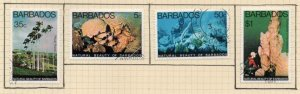 Barbados Sc 455-58 1977 Underwater Attractions stamp set used