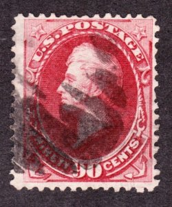 US 155 90c Perry Used F-VF SCV $350