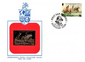 Isle of Man, Worldwide First Day Cover, Ships