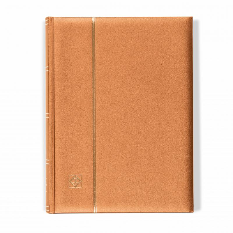 Lighthouse 358057 Bronze COMFORT Stockbook A4/64pp Glassine