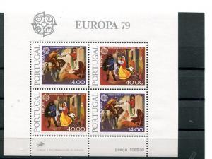 Portugal Europa  1979  Mint  VF NH sheet  - Lakeshore Philatelics
