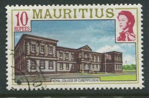 Mauritius-Scott 461 -QEII Pictorial Definitives -1978 -Used -Single 10r Stamp