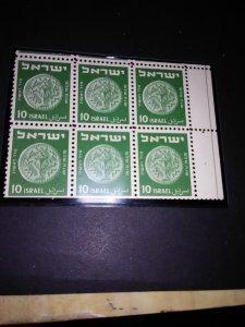 Israel  #192 mint Block of 6 mint nh