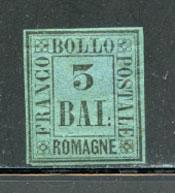 ROMAGNA, Scott #4, Sassone #4, Unused, Cat. $104.00