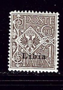 Libya #1 MH 1912 overprint issue