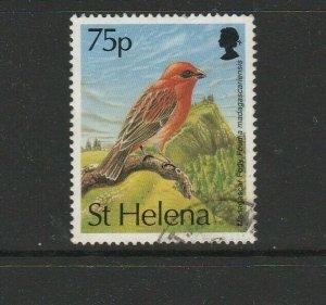 St Helena 1993 Bird Defs 75p FU SG 644