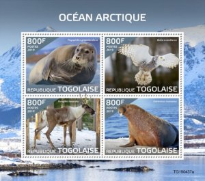TOGO - 2019 - Arctic Ocean - Perf 4v Sheet  - M N H