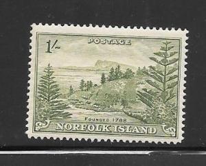 Norfolk Island #11 mnh Single