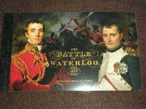 2015 GB Stamps THE BATTLE OF WATERLOO PRESTIGE STAMP BOOKLET DY14 UNMOUNTED MINT