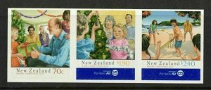 2013  NEW ZEALAND  SG: 3509/11 - CHRISTMAS - S/A SET - UNMOUNTED MINT