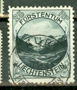 Liechtenstein 98 used CV $45