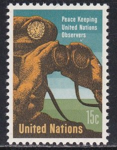 United Nations - New York # 160, Peacekeeper Observer, LH