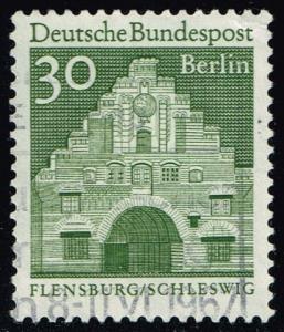Germany #9N239 Nordertor in Flensburg; Used (0.25)