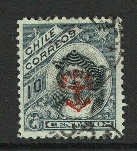 Chile SC# O12, Used - S12423