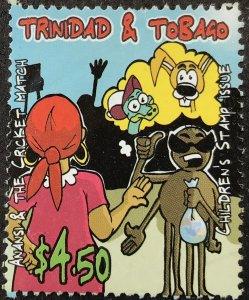 Trinidad & Tobago 772 used cartoon SCV $1.75