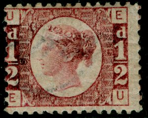 SG48, ½d rose-red plate 5, NH MINT. Cat £110. EU