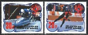 North Korea. 1984. 2457-58. Sarajevo, winter olympic games. MNH.
