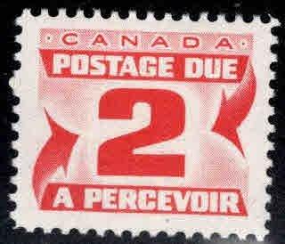 Canada Scott J22 MH* Postage Due