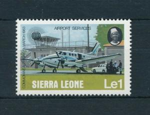 [98182] Sierra Leone 1983 Aviation Aircraft From Set MNH